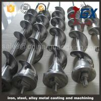 Buy cheap 38CrMoAlA blow molding machine screw and barrel from wholesalers
