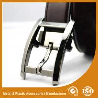 Buy cheap Split Leather Belt Strap Buckle Pin Custom Belt Buckle Laser Type from wholesalers