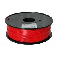 Buy cheap red color 3d printer filaments pla 3.0mm 1kg plastic for ultibot product