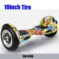 Buy cheap 10inch ground-grip inflatable big tire hover board self balancing board scooter smart from wholesalers