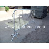 Buy cheap Hot Dipped Galvanized Crowd Control Fencing Easy Handle Corrosion Resistant from wholesalers