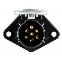 Buy cheap Heavy Duty Vehicle Trailer Electrical Socket 7 Pin Weatherproof from wholesalers