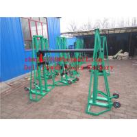 Buy cheap Cable drum trestles  made of cast iron  Jack towers product