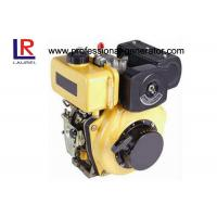 Buy cheap Direct injection Industrial Diesel Engines , Air Cooled Diesel Engines 4 Hp Crankshaft / Camshaft product