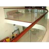 Buy cheap Top-grade Commercial Buildings Balustrade glass balustrade Tempered glass for railing from wholesalers
