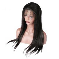 Buy cheap Brazilian Straight Lace Front Human Hair Wigs Bleach Knots And Baby Hair from wholesalers