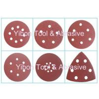 Quality Various Shape Wolf abrasive paper velcro disc for sale