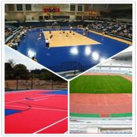 Buy cheap 3W outdoor basketball court / suspend interlocking / pvc floor from wholesalers