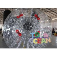 Buy cheap Customized PVC Vinyl Tarpaulin Inflatable Walking Ball / Soccer Zorb Ball For Adults from wholesalers