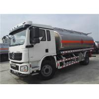 Buy cheap Shacman 4x2 6 Wheels 15000l Tanker Truck Trailer , Fuel Tank Trailer Bowser from wholesalers