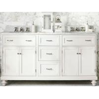 China 72′′ Bathroom Vanity Cabinets Floor Standing With Black Or White Gloss Finish on sale
