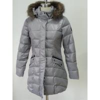 Buy cheap Breathable Windbreaker Garment Dyeing Service Goose Down Jacket With Zipper product