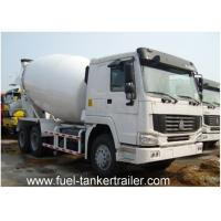 Buy cheap 10CBM Concrete mixer truck with 10CBM mixing drum volume and 25000 gross weight from wholesalers