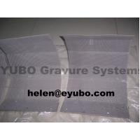 Buy cheap Platinum Plated Titanium Anode basket for gravure cylinder chroming bath from wholesalers