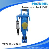 Buy cheap YT27 Pneumatic air leg rock drill from wholesalers