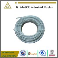 Buy cheap High quality Transparent Plastic Coating Steel Wire Rope from wholesalers