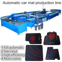 Buy cheap Intelligent rubber car floor mat making machine from wholesalers