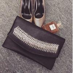 Buy cheap 2015 Spring Hot Sale Women Satchel Handbag Shoulder Purse PU Leather Fish Bone Patten from wholesalers