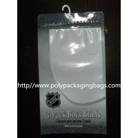 Buy cheap Composited Clear Poly Bags for Short Pants , Plastic Hanger Bags from wholesalers
