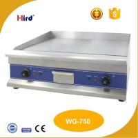 Buy cheap CE Electric grill Plain iron cast griddle 9mm or 12mm Hot plate Catering equipment Chinese wholesale websites WG-750 from wholesalers