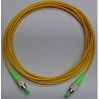 Buy cheap 1, 2, 3 meter or customized Yellow color FC APC Fiber Optic Patch Cord with LSZH cable from wholesalers