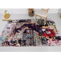 Buy cheap Good Flexibility Modern Floor Rugs For Child Stain / Dirt Resistance from wholesalers
