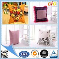 Buy cheap Shrink Resistant Printed  Home Textile Products Fashion Chair Seat Pillow With Polyester Filling from wholesalers