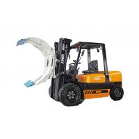 Buy cheap Hydraulic Heavy Duty Narrow Aisle Forklift Truck , Stand Up Reach Forklift from wholesalers