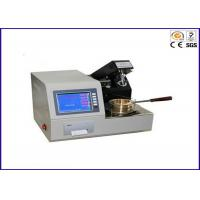 Buy cheap EN ISO 2592 ASTM D92 Automatic Cleveland Open Cup Flash Point Testing Equipment from wholesalers