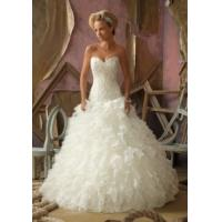 Buy cheap China Wedding Dress /2014 Ball Gown Sweetheart Neckline Organza Bridal Wedding Dress from wholesalers