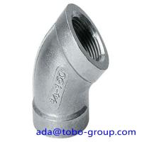 Buy cheap A403 WP316 Stainless Steel Elbows SCH10 - SCH160 XXS 45 90 180 Degree from wholesalers
