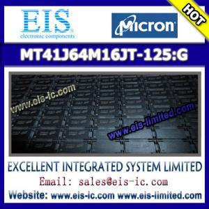 Buy cheap MT41J64M16JT-125:G - MICRON - DDR3 SDRAM MT41J256M4 – 32 Meg x 4 x 8 banks MT41J128M8 – 16 product