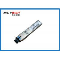 Buy cheap Hot - Pluggable OLT / ONU SFP Module Single Mode 20km Transmission Distance product
