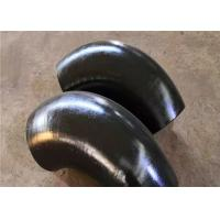Buy cheap A420 Buttweld Elbows Steel Pipe Fittings Cast Iron 60 Degree Oil Painting product