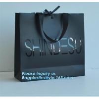 Buy cheap Customized luxury wedding favor bags elegant high grade carrier gift bag pretty eco friendly paper shopping bag, bagease from wholesalers