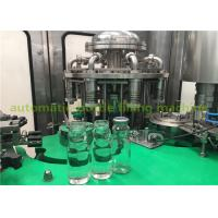 Buy cheap Glass Bottle Grape Juice Liquid Hot Filling And Packing machine / Plant product