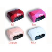 Buy cheap 36w Ccfl Uv Led Lamp Nail Dryer ABS Diamond Shape Nail Tool With Sensor And Timer from wholesalers