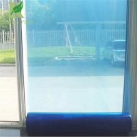 Buy cheap 0.025-0.2mm Blue Easy Peel Self-adhesion pe Protective Film for Glass from wholesalers