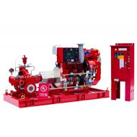 Buy cheap High Performance Split Case Fire Pump , Fire Fighting Water Pump 180kw Shaft Power from wholesalers