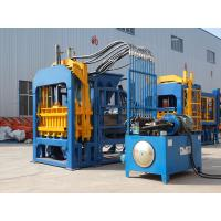 Buy cheap QT4-15 Hydraulic Automatic Hollow Solid Interlocking Paver Block Making Machine from wholesalers
