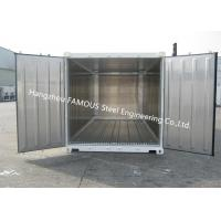 Buy cheap Movable Cold Storage Stainless/ Polyurethane Panel Decoration Portable Chilled Container Application In Cold Chain from wholesalers