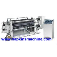 Buy cheap Fully Automatic Adhesive Tape Sticker Paper Slitting Rewinding Machine from wholesalers