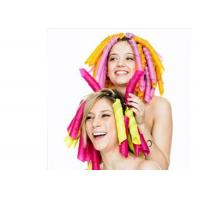 Colorful Curly Hair PET Expandable Braided Sleeving For Beautification