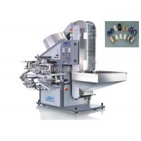 Buy cheap Auto Hot Foil Stamping Machine 25mm - 60mm Length Lid For Soft Tube Plastic Caps product