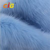 Buy cheap Waterproof Anti - Mildew Fire - Resistant Faux Fur Fabric Weight 200-800GSM product