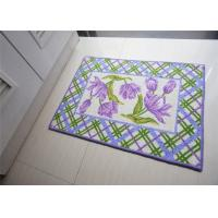 Buy cheap Bath room / kitchen Non Slip Door Mats , washable door mats non slip from wholesalers