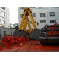 Buy cheap Mining Excavator Spare Parts Two-Jaw Double Rope Clamshell Grab 32T , 63T from wholesalers