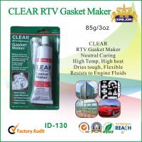 Buy cheap Waterproof Clear Non-Toxic RTV Silicone Sealant For Glass / Metal / Fabric from wholesalers