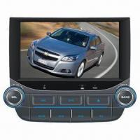 Buy cheap 2-DIN car DVD player for Chevrolet Malibu with 8 inches HD touch screen, GPS navigation system from wholesalers