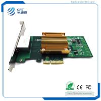 Buy cheap F902T PCIe 1G Gigabit 2-Port Copper RJ45 Intel I350 Chipset Fibre Optic Network Card from wholesalers